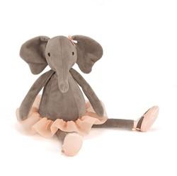 Jellycat knuffel Dancing Darcey Elephant -33cm
