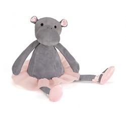Jellycat knuffel Dancing Darcey Hippo Small 23cm