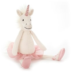 Jellycat Dancing Darcey Unicorn Small - 23cm