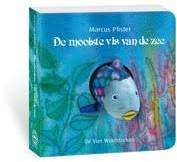 Kinderboeken  voorleesboek Vingerpopboek De mooiste vis