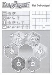 999 Games De Kolonisten van Catan: Het Dobbelspel: Scoreblok 3 stuks