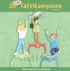 Kinderboeken  educatieboek De supertafelkampioen