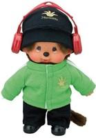 Monchhichi  knuffelpop kleren Boutique B DJ Style Groen-3