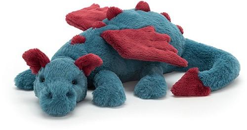 Jellycat knuffel Dexter Draak 50cm