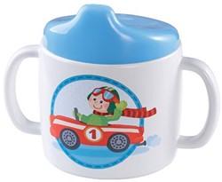 Haba  kinderservies Baby drinkbeker Snelle sportwagen