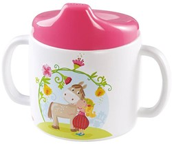 Haba  kinderservies Baby drinkbeker Vicki & Pirli