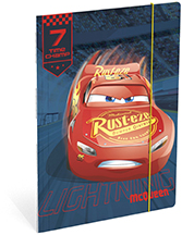 Disney Cars Elastomap Folio Karton