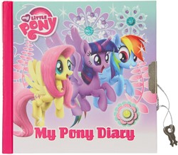 Disney My Little Pony Dagboek met slot