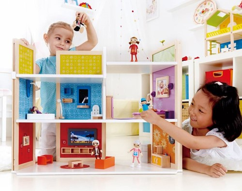 Hape houten poppenhuis DIY Dream House