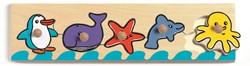 Djeco houten vormenpuzzel Sea'n'co