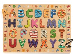Djeco houten puzzel ABC (French only)