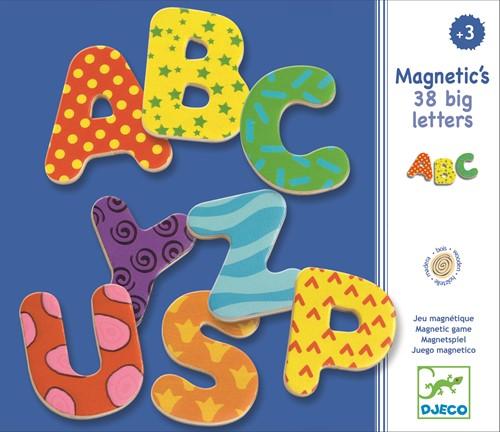 Djeco 38 Grote Letter Magneten