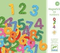 Djeco magneten 38 numbers
