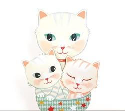 Djeco wand muziekdoosje Cats