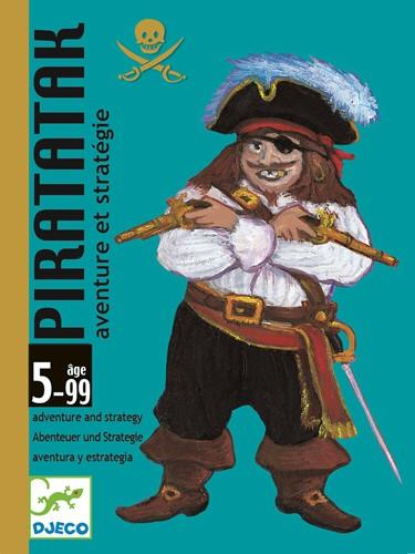 Djeco kaartspel Piratatak