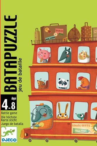 Djeco kaartspel Batapuzzle