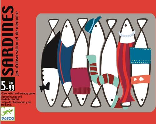 Djeco kaartspel Sardines