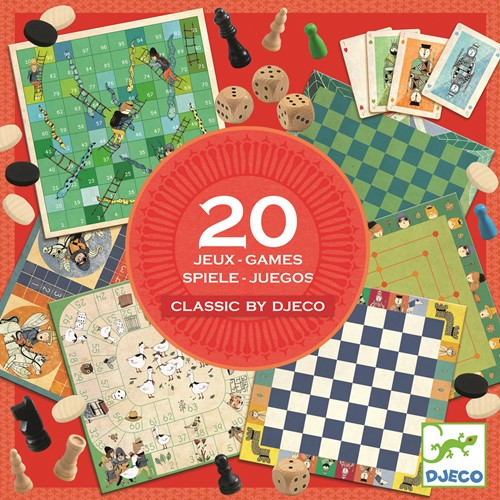 Djeco Classic box 6+