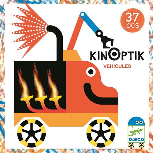 Djeco puzzelspel Voertuigen - 37 stukjes