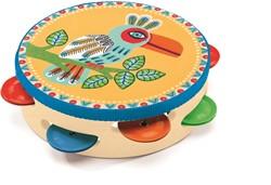 Djeco muziekinstrument Tambourine
