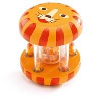 Djeco  houten rammelaar Ratel tijger - DJ06450