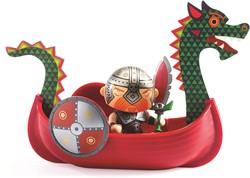 Djeco Arty Toys - Drack & Ze drakkar