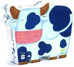 Djeco  legpuzzel De koeien op de boerderij - 24 stukjes