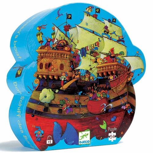 Djeco puzzel Barbarossa's boot - 54 stukjes
