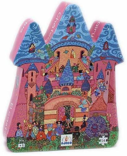 Djeco puzzel Sprookjes kasteel - 54 stukjes