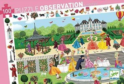 Djeco  legpuzzel Garden Party - 100 stukjes