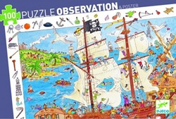 Djeco puzzel observation piraten