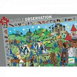 Djeco puzzel observation ridders