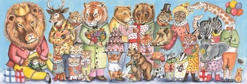 Djeco puzzel Feestje van de Leeuwenkoning - 100 stukjes