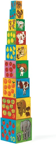 Djeco 10 cubes Mes amis