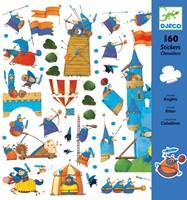 Djeco stickers Chevaliers-2