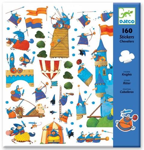 Djeco stickers Chevaliers
