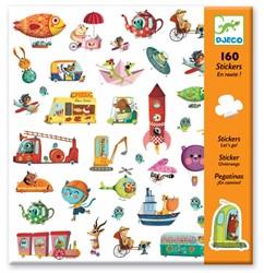 Djeco 160 stickers Let's go!
