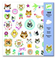 Djeco  stickers Katten