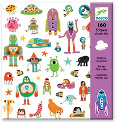 Djeco  stickers Oxo-Planeet