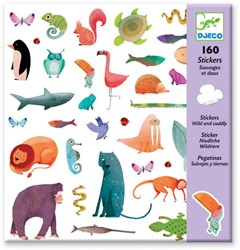 Djeco 160 stickers Wild and cuddly