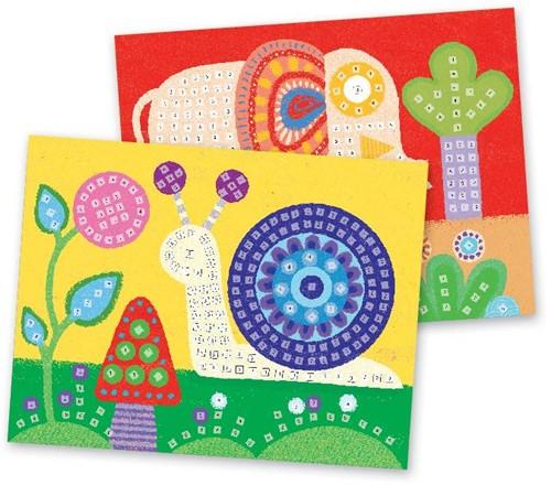 Djeco creatief mozaiek Olifant-2