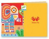 Djeco creatief mozaiek Olifant-3