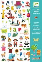 Djeco 1000 stickers for little ones