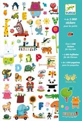 Djeco Stickers 1000 stickers pour les petits