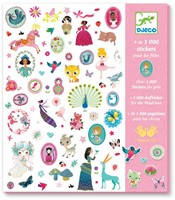 Djeco 1000 stickers for girls-1
