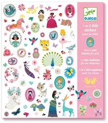 Djeco Stickers 1000 stickers pour les filles