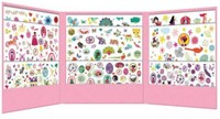 Djeco 1000 stickers for girls-2
