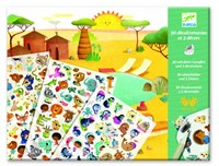 Djeco creatief Savannah, desert, and North Pole: time for fun!-1