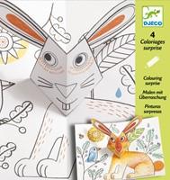 Djeco  knutselspullen Pop-up konijn-1