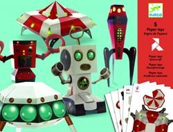 Djeco Paper toys Engins de l'espace